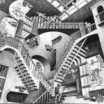 Escher-La maison aux escaliers